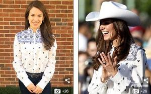 Một fan mê Kate Middleton đến nỗi sao chép gần như toàn bộ những thiết kế mà Công nương từng mặc
