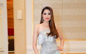 Hoa hậu Phạm Hương xuất hiện rực rỡ sau thời gian liên tiếp gặp biến cố