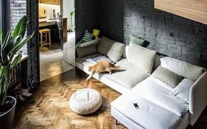 Căn hộ chung cư 35 m2 có gác lửng khiến nhiều người thích mê