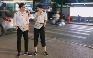 Ngoài cặp Kỳ Duyên - Diệp Lâm Anh, showbiz Việt còn cặp bạn thân Miu Lê - Duy Khánh cũng chăm diện đồ đôi