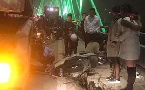 Điều tra vụ xe rác tông 3 thanh niên trên cầu Nhật Tân