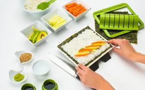 5 bộ dụng cụ giúp bạn tự làm sushi, ăn uống sang chảnh ngay tại nhà