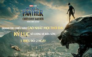 """""""Chiến binh Báo Đen"""" trở thành phim có doanh thu chiếu sớm cao nhất mọi thời đại tại Việt Nam"""