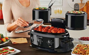 Bếp nhỏ hẹp vẫn thoải mái nấu đủ món ăn nhanh gọn nhờ mẫu nồi đa năng mới mẻ này