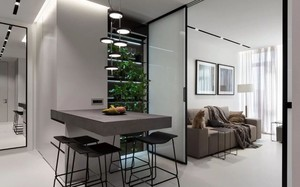 Căn hộ 44m² đẹp không giới hạn nhờ áp dụng cực hiệu quả phong cách tối giản