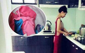 """Sống chung với chị chồng phiên bản ở bẩn: Bỏ nội y còn vết """"tới tháng"""" lẫn với áo quần khác, tã lót em bé giặt cùng khăn mặt"""