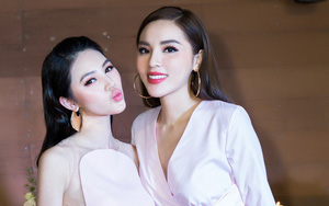 """Kỳ Duyên sang chảnh đi dự sinh nhật """"Hoa hậu con nhà giàu"""" Jolie Nguyễn"""