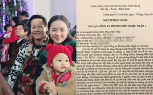 Phan Như Thảo khiếp sợ và hoảng loạn khi chứng kiến con gái suýt bị bắt cóc