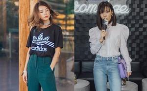 Diện toàn đồ đơn giản nhưng các quý cô Châu Á vẫn đẹp hết nấc trong street style tuần này