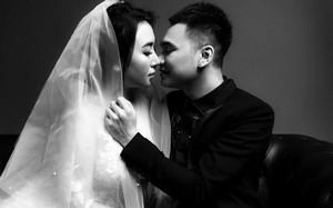 Khắc Việt khoe ảnh cưới ngọt ngào cùng vợ 9x nóng bỏng