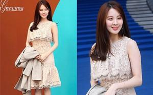 """""""Em út"""" Seohyun vướng nghi án tiêm thẩm mỹ vì cười gượng và đơ tại Tuần lễ thời trang Seoul"""