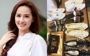 Có ai chào hè hoành tráng như Mai Phương Thúy, chi cả trăm triệu để sắm 2 đôi dép lê cùng loạt giày túi