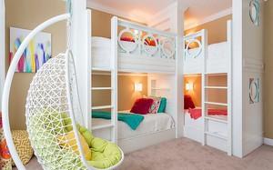 Mách bạn 5 cách thiết kế phòng ngủ chung cho các con khiến bé thích mê