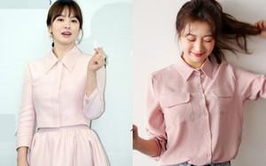 Nếu muốn vừa nữ tính lại trẻ trung như Song Hye Kyo, Phạm Băng Băng… thì đây là 5 items màu hồng mà bạn cần