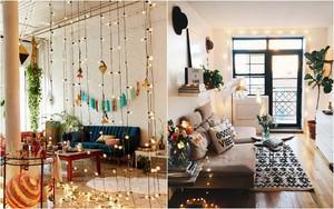 Những điều bạn cần phải biết về việc sử dụng đèn dây trong trang trí phòng khách