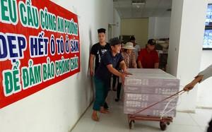 Bê bối chung cư BMM Hà Đông: Vứt bỏ bình chữa cháy hết hạn, di chuyển kho nội thất vi phạm PCCC