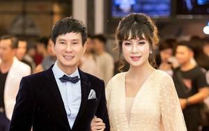 """""""Gái 4 con"""" Minh Hà khoe nhan sắc lộng lẫy mừng chồng yêu Lý Hải ra mắt phim mới"""