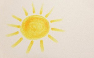 Từ hình vẽ mặt trời đoán tính cách của bạn