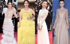 """17 bộ váy đẹp nhất thảm đỏ Cannes 2018 thì ắt hơn chục bộ chỉ dành cho những nàng ngực """"mini"""""""