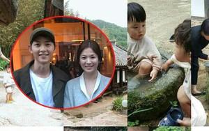"""""""Cô dâu mới"""" Song Hye Kyo vui vẻ khoe ảnh đi chơi cùng gia đình nhà chồng"""