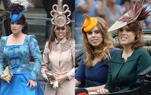 """Bộ đôi Công chúa từng """"phá đảo"""" các sự kiện hoàng gia với trang phục """"chặt chém"""" và gây thất vọng tại hôn lễ của Hoàng tử Harry là ai?"""
