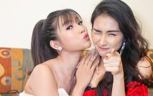 Không hẹn mà gặp, Chế Nguyễn Quỳnh Châu và Hòa Minzy cùng diện váy hở vai gợi cảm trong cùng sự kiện