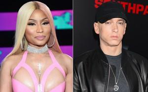 """Sau khi khiến dân tình nháo nhào, Nicki Minaj bèn thú thật """"chỉ nói đùa"""" chuyện hẹn hò rapper huyền thoại Eminem"""