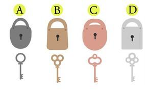 Chọn một bộ khóa để biết bạn là kiểu người như thế nào