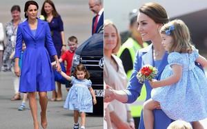 Chùm ảnh: Không thể phủ nhận, Công nương Kate - Công chúa Charlotte chính là biểu tượng thời trang mẹ con ton-sur-ton đáng yêu nhất thế giới