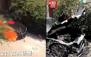 Trung Quốc: Dâng lễ thắp hương cho chiếc BMW bạc tỉ mới mua, thanh niên lỡ tay đốt trụi xe luôn