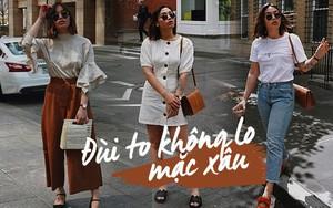 Dù đùi to nhưng cô nàng blogger này vẫn tự tin mặc đẹp nhờ 4 bí kíp đơn giản
