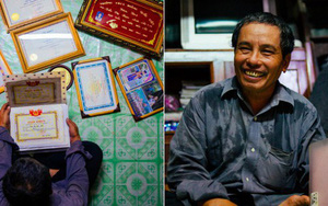 Căn nhà lụp xụp của người cha bán vé số nuôi 3 cô con gái đạt thành tích đáng nể: Người vào ĐH Bách Khoa, người nhận học bổng du học