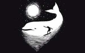 Bạn nhìn thấy người đang lướt sóng hay chú cá heo, đáp án sẽ tiết lộ phong cách sống của bạn