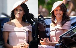 Meghan Markle lại tiếp tục phá vỡ quy tắc trang phục mà Công nương Diana và Kate Middleton chưa dám làm