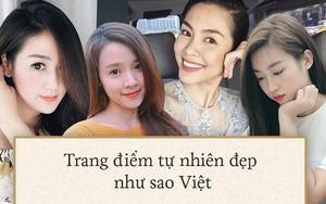 Chỉ chút son môi và phấn má hồng, 4 người đẹp này vẫn xinh ngất ngây với style thường ngày