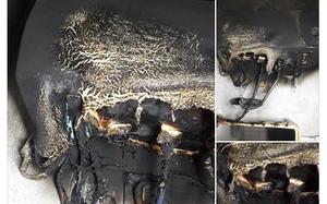 Hoảng hồn khi bình nóng lạnh bất ngờ phát nổ cháy đen trong nhà tắm