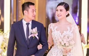 Hoa hậu Ngọc Duyên lộng lẫy trong đám cưới với chồng đại gia tại Hà Nội