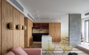 Căn hộ một phòng ngủ có thiết kế hiện đại, độc đáo