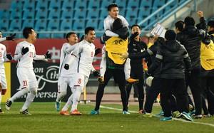 """HLV Park Hang Seo: """"Đức Huy nhận tin bác mất, nhưng vẫn nén nỗi đau để thi đấu và giành chiến thắng"""""""