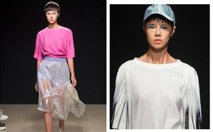 Đỗ Hà sải bước trong show diễn mở màn Tuần lễ thời trang Milan