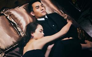 Trần Kiều Ân vai trần gợi cảm, ôm chặt trai đẹp trên giường