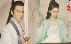 """Angelababy đẹp như tiên nữ, Chung Hán Lương lạnh lùng chuẩn """"soái ca"""""""