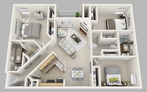 10 mẫu thiết kế nhà diện tích nhỏ nhưng có 3 phòng ngủ cực dễ ứng dụng cho nhà Việt
