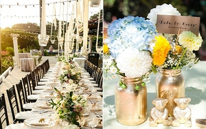 10 ý tưởng trang trí tiệc cưới ngoài trời vừa thú vị vừa ấn tượng