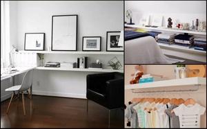 Kệ mở - món đồ có thể phù hợp với bất cứ không gian, diện tích  nào trong ngôi nhà của bạn