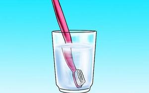 Xua tan nỗi lo ngại bàn chải đánh răng bẩn bằng cách cực hay và vô cùng đơn giản sau