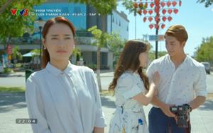 """Nhã Phương đau đớn nhìn Kang Tae Oh tình tứ cùng """"hồ ly"""" Jung Hae Na"""
