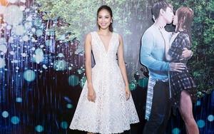 Phạm Hương váy trắng bồng bềnh, xinh như nàng công chúa