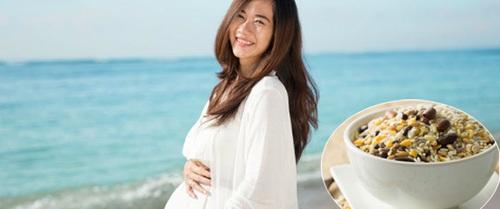 Học mẹ bầu Hàn Quốc cách ăn uống để sinh con đẹp như thiên thần