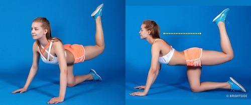9 bài tập hiệu quả nhất để có chân thon và vòng 3 cong mẩy